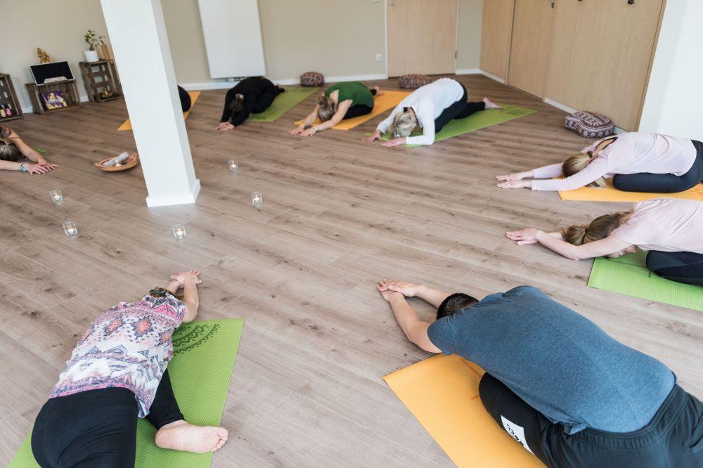 Yin Yoga Stunde 20.12.2021
